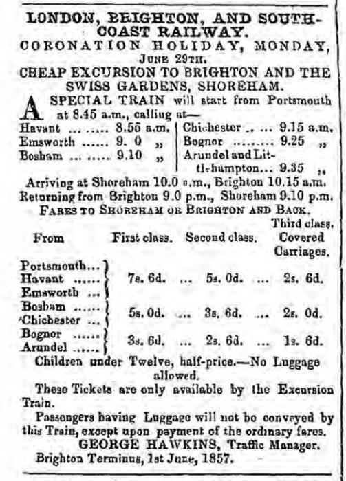 1857fd 13th June Hampshire Telegraph