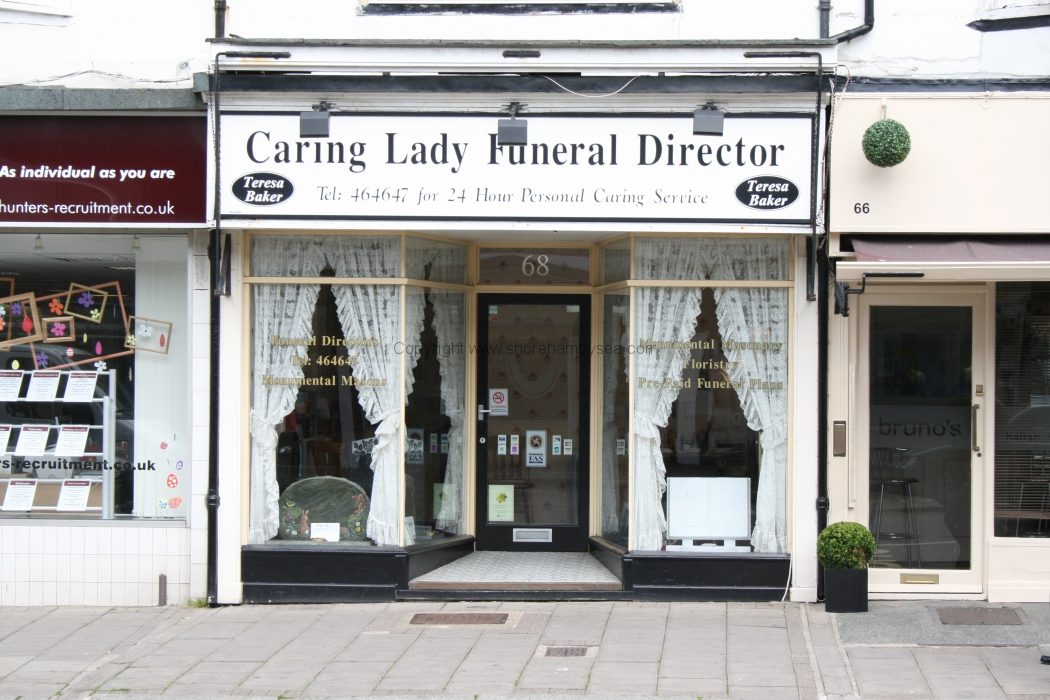 -68 Caring Lady Funeral Director